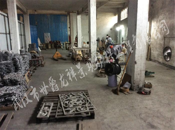 铸铝花型制作