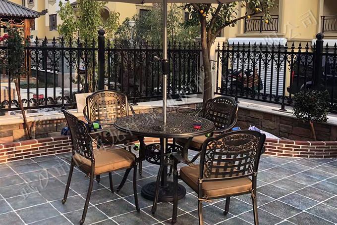 室外铸铝座椅